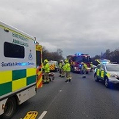 Police, fire and ambulance service